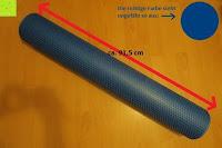 Erfahrungsbericht: High Pulse Pilates-Rolle – Die multifunktionale Schaumstoff-Rolle ideal zur Massage, Gymnastik und Muskelkräftigung, 90x15cm
