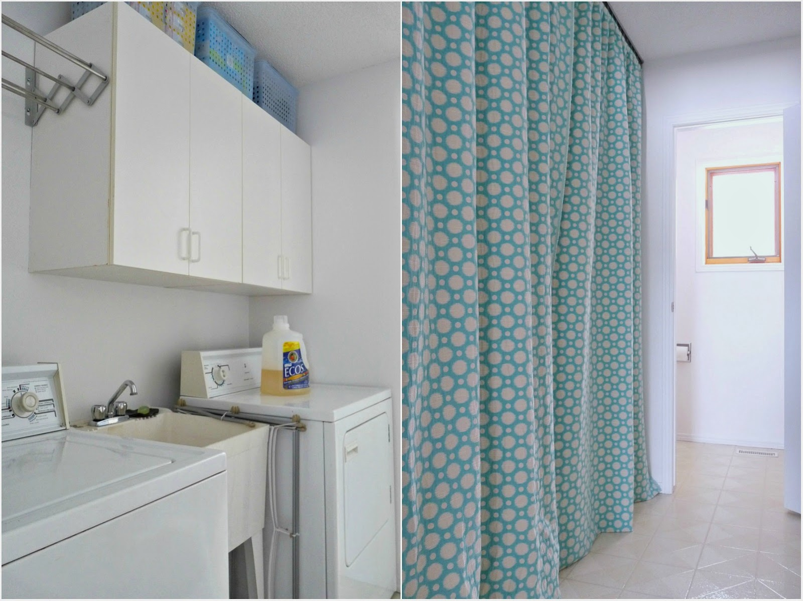 Budget-friendly laundry room makeover