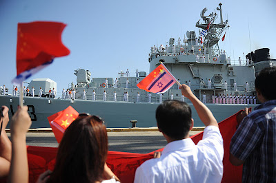 Celebrating 20 years of cooperation between the Israel Navy and the Chinese Navy