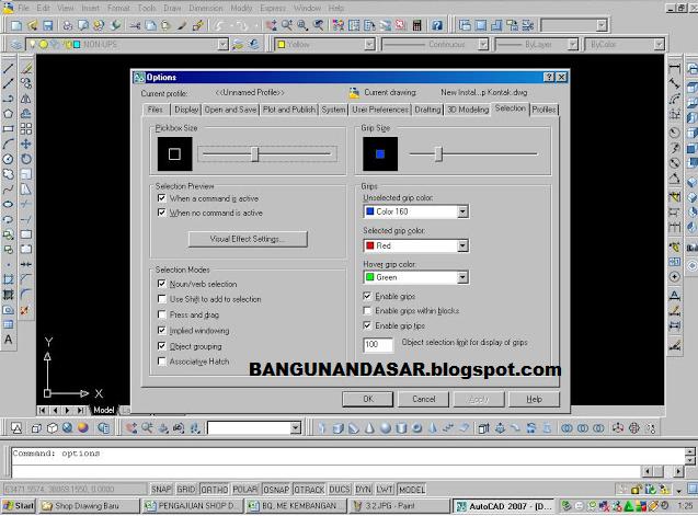 Cara Merubah Satuan Gambar Di Software AutoCAD