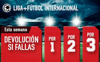 sportium Fútbol: Combinadas 'con seguro' 19-25 marzo