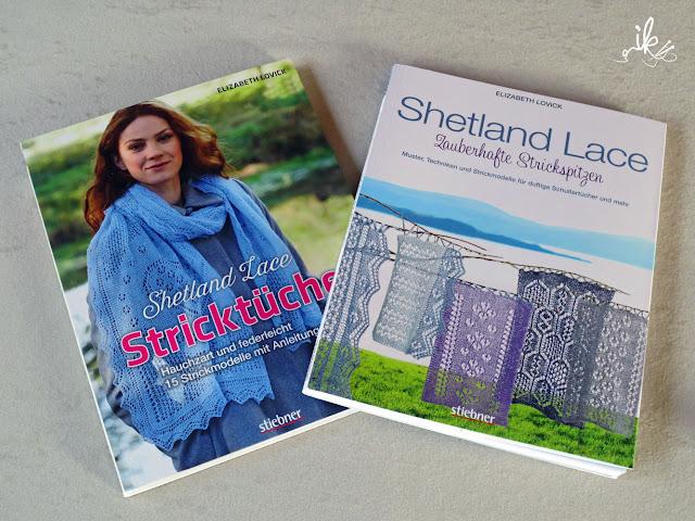 Shetland Lace Strickspitzen und Stricktuec