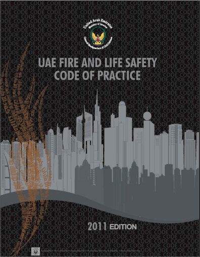 Download the UAE Fire and Life Safety Code of Practice الكود الاماراتي للحريق