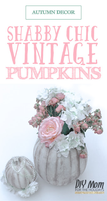 DIY | Vintage | Shabby | Chic | Decor | Thanksgiving | Halloween | Autumn Decor | Pumpkins