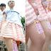 एडवरटाइजमेंट के लिए इन लड़कियों ने किराए पर दे दी अपनी टांगें - Girls give rented their legs
