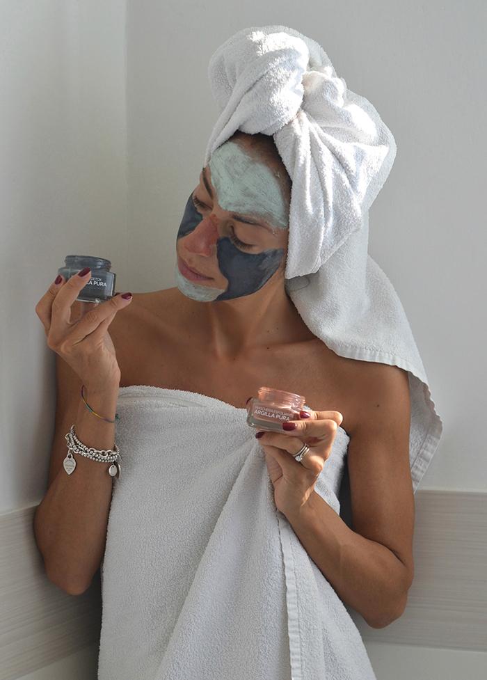 maschere argilla