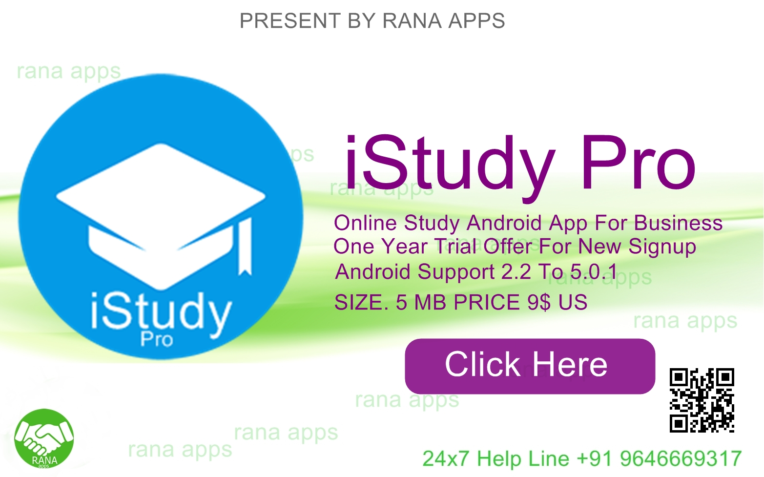 Download iStudy Pro Android App By Rana Apps ~ Rana Apps India