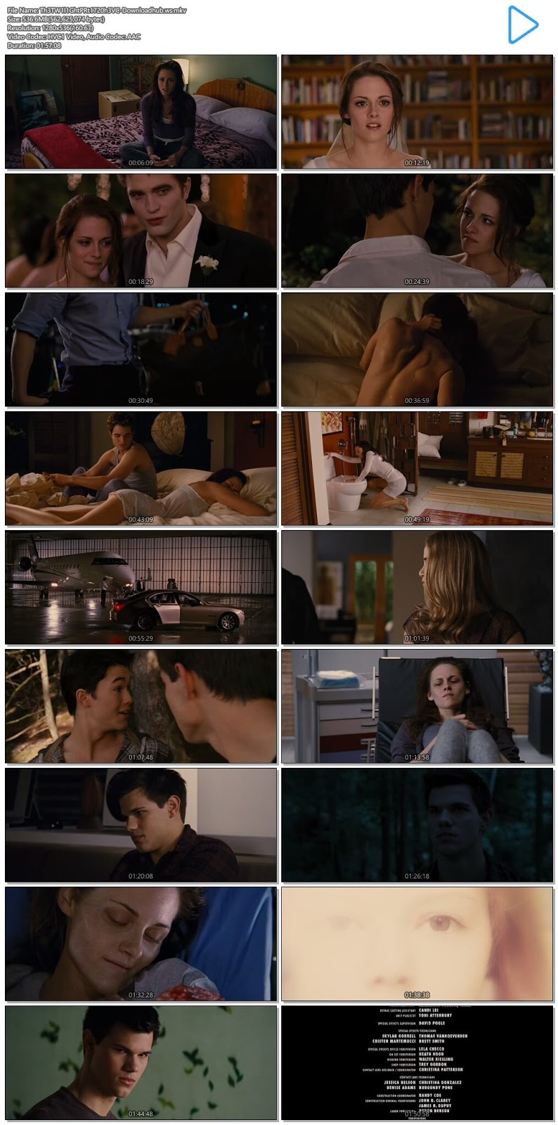 The Twilight Saga Breaking Dawn - Part 1 2011 Hindi Dual Audio 720p HEVC BluRay Free Download