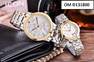 Đồng hồ cặp đôi đẹp nhất OM Đ131800
