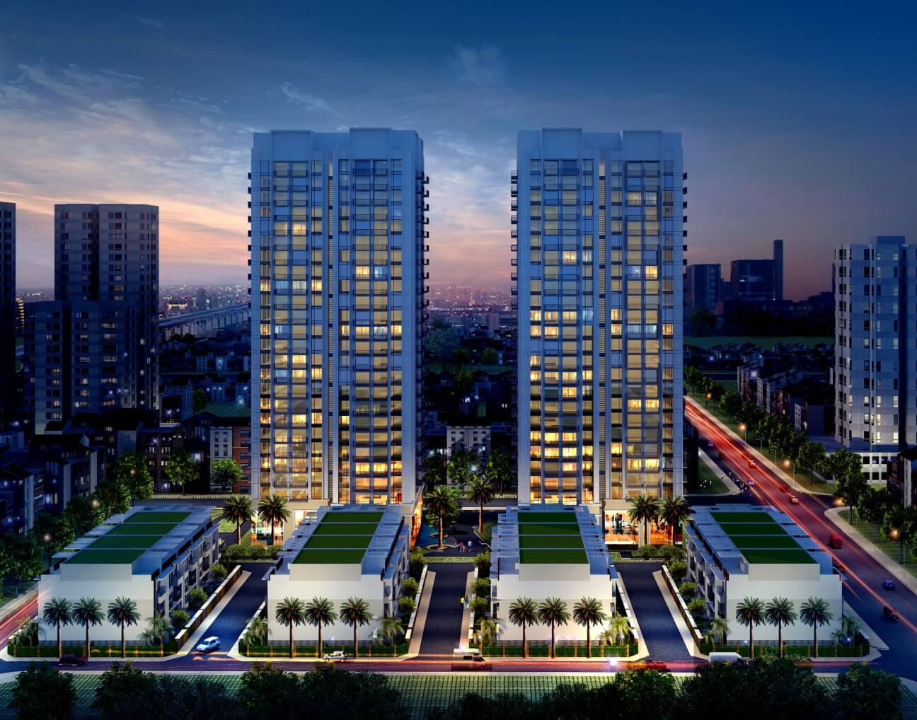 Phối cảnh dự án chung cư Thống Nhất Complex 82 Nguyễn Tuân