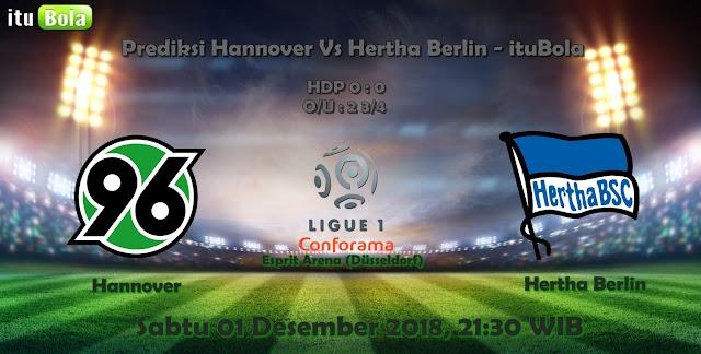 Prediksi Hannover Vs Hertha Berlin - ituBola