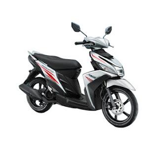 Promo Motor Yamaha Solo Surakarta 2017 Putih