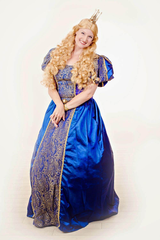 Nicoline Roos som Eventyrprinsessen