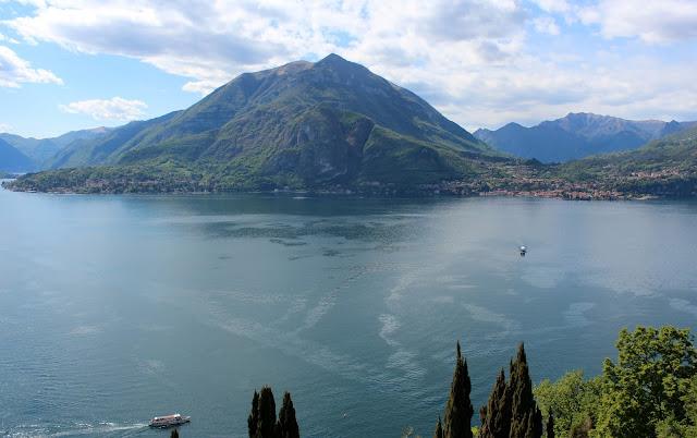 Vistas desde el castillo de Vezio. Varenna