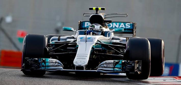 F1: GP Abu Dhabi, doppietta Mercedes: trionfa Bottas. Vettel chiude 3°