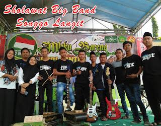 www.biliklagu.tk | Chord Gitar Ajine Urep Songgo Langit  Sholawat Big Band SMK Ma'arif NU Mantup