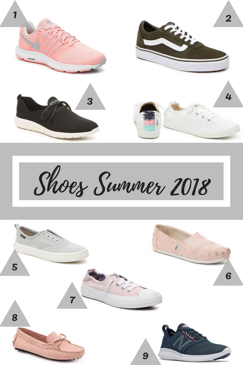Stephanie Kamp Blog: Shoes I Want to Buy July 2018
