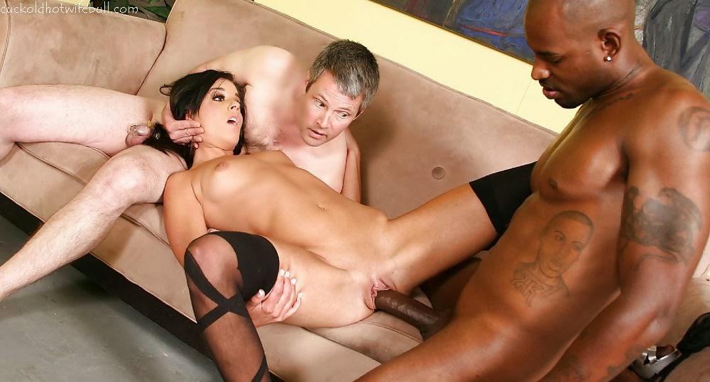 Husband Watches Wife Fucks Black Man-2416