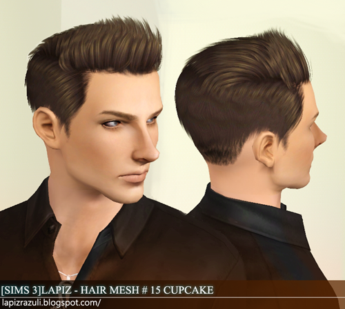 Sims 2 Hairstyles: I Want Normal Male Sim Boyband-proof CC Hair...