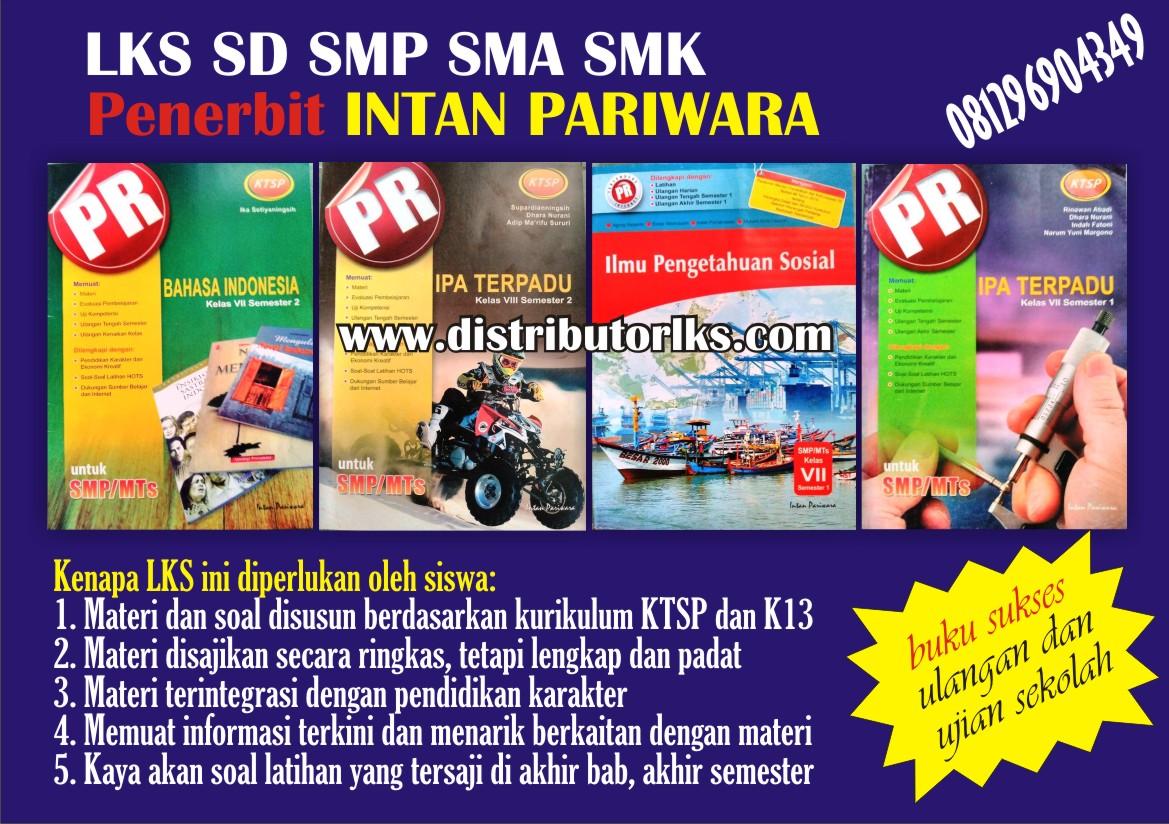 Lks Intan Pariwara Distributor Lks