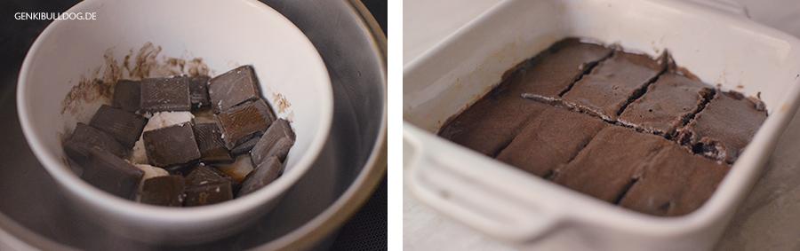 Rezept: Brownies für Hunde  - Hundbelog - Hundekuchen backen