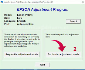 Download Epson PictureMate PM 245 resetter tool