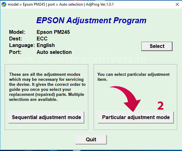 Picture Mate service required, Epson error end service life, Epson maintenance software