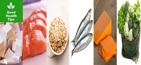 Top 6 calcium foods