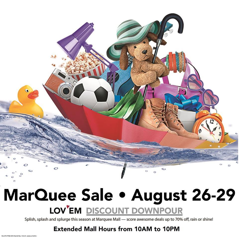 Manila Shopper Marquee Mall Sale August 2016