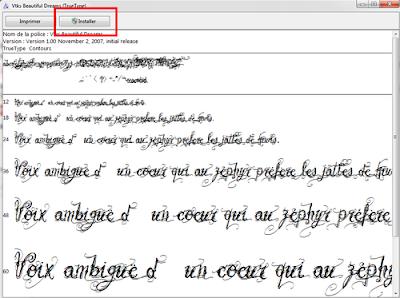 اسهل الطرق لإضافة خطوط إلى ويندوز 7