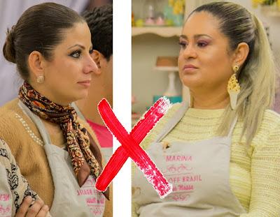 Gigi aeromoça e Marina ex-funkeira - Crédito: Artur Igrecias/SBT