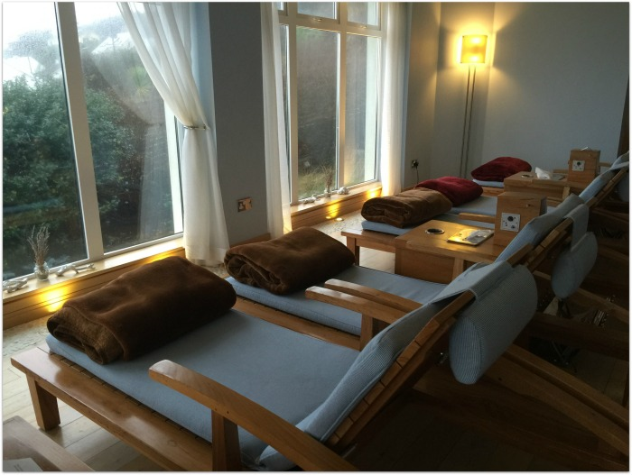 Inchydoney Island Lodge and Spa Ocean View Relaxation Room