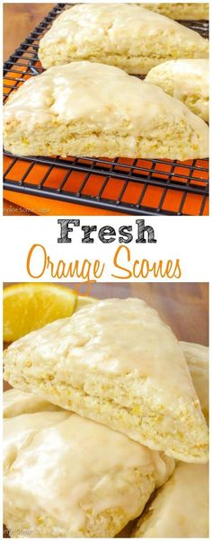Fresh Orange Scones Recipe