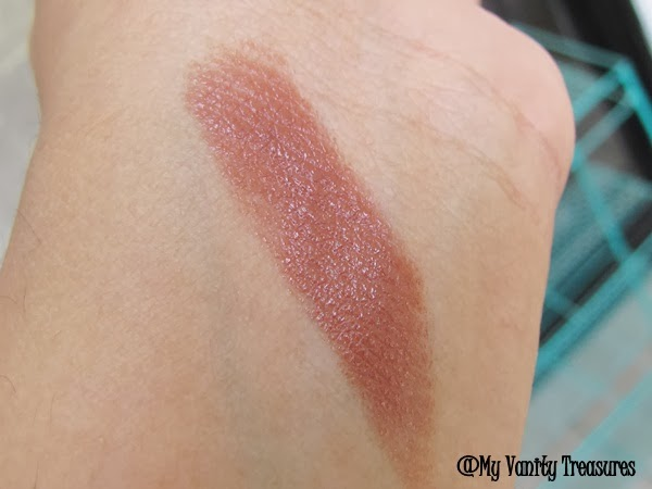 MAC Mocha Lipstick Dupe, Loreal Natures Blush Swatch