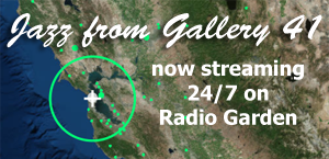 Jazz from Gallery 41 on Radio Garden
