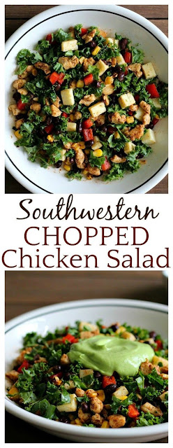 Southwestren Chopped Chicken Salad