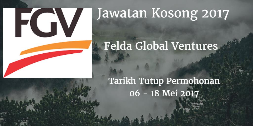Jawatan Kosong FGV 06 - 18 Mei 2017