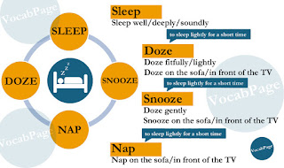 Synonyms: sleep; doze; snooze; nap