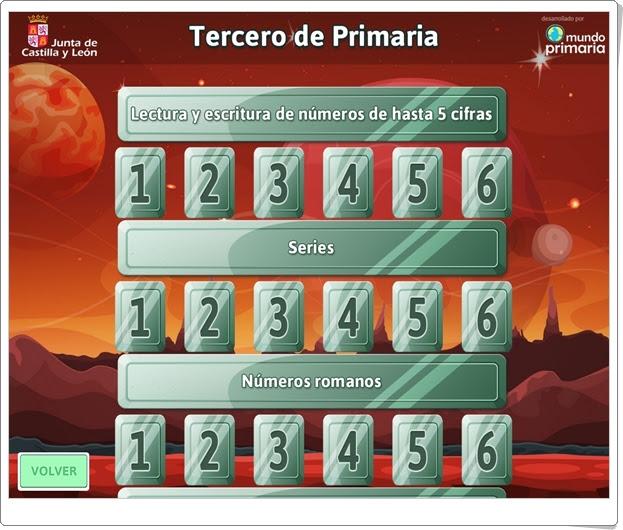 """""""Matespacial 3"""" (Juegos de Matemáticas de Verano de 3º de Primaria)"""