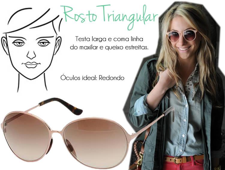 8c3f0b59643cb Rosto Quadrado e Retangular  O óculos perfeito para esse formato de rosto é  o Modelo Aviador