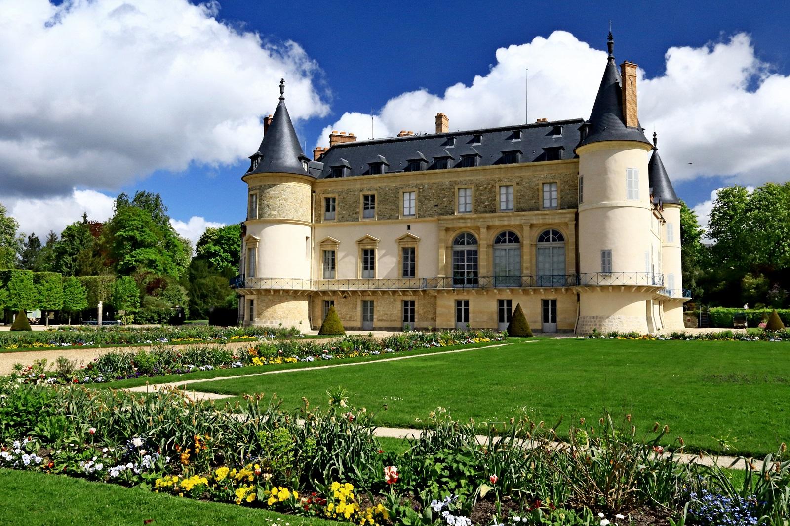 Château, herbe