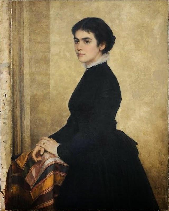 Carl Rudolph Sohn: Else Sohn-Rethel, die Gattin des Künstlers. 1873