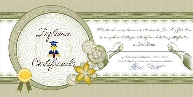 Descárgate el Diploma-Certificado para ejercer de Ostiópata