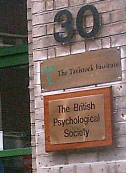 the Tavistock Mind Control Centre