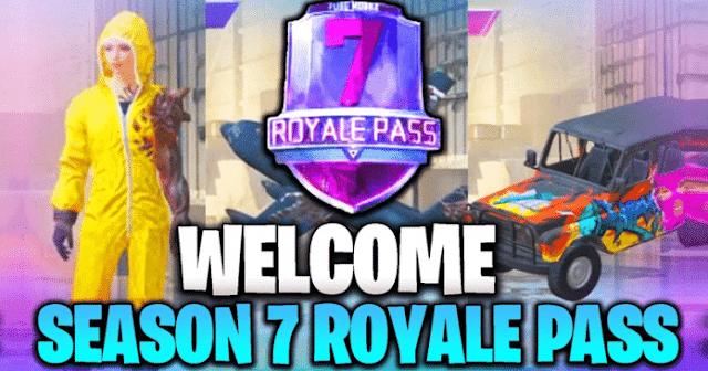 PUBG Mobile Temporada 7 Royale Pass Leak: