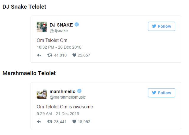 Update Status Om Telolet Om di Twitter