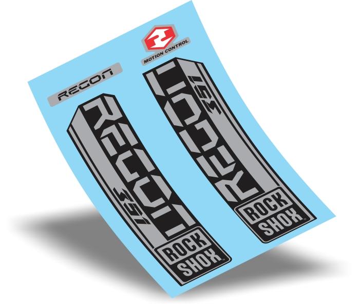 Stickers Design Adesivo Suspensão Rock Shox Recon 351