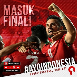 Masuk Final Piala AFF 2016
