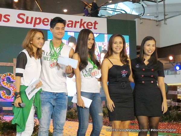 Iya, Daniel and Vanessa Matsunaga, Rachel and Barni Alejandro