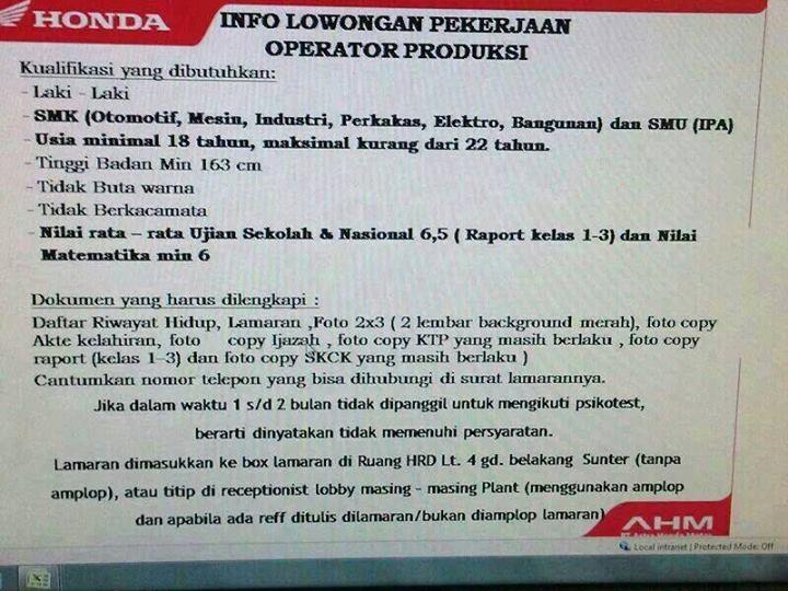 Lowongan Kerja Lulusan Smk Daerah Jakarta Barat Informasi Lowongan Kerja Loker Terbaru 2016 2017 Lowongan Kerja Kawasan Mm 2100 Newhairstylesformen2014